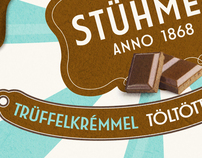 Stühmer chocolate packaging - candy style