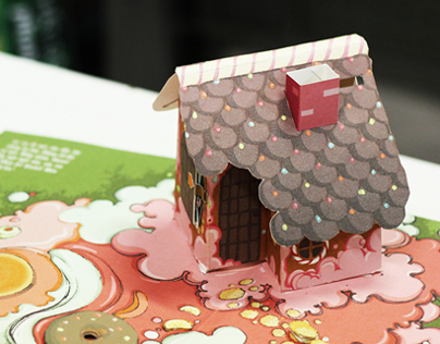 Pop up book - Hansel and Gretel