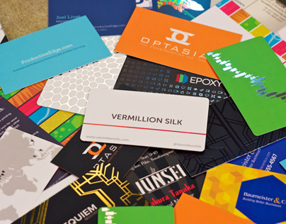 Silk Business Card Collection