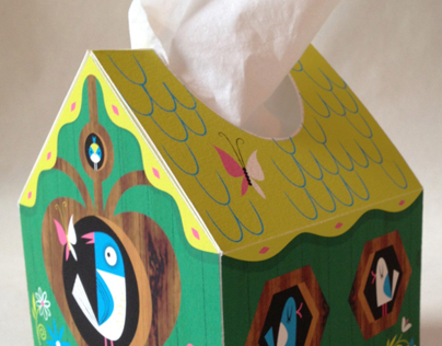 Kleenex Bird House pitch