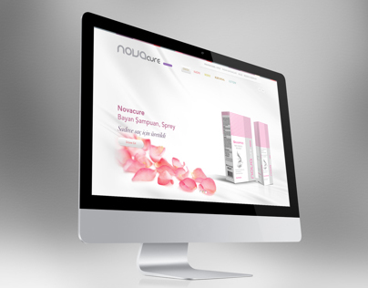 Novacure Cosmetics Html5 Website