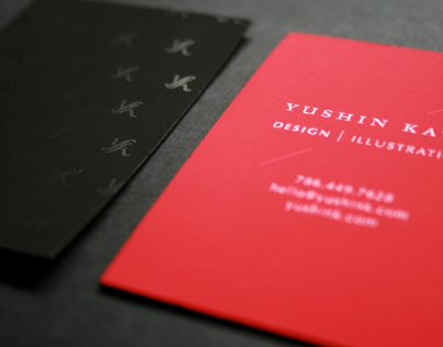 Self-brand Business Cards