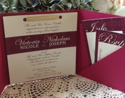 Parziale Wedding Invitation
