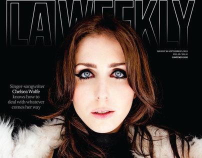Chelsea Wolfe - LA Weekly 8/29/13