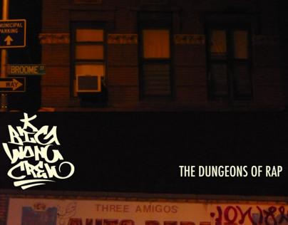 The Dungeons of Rap Album Cover Design