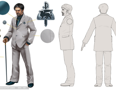 TSW Character Design & Model Sheet