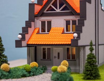 Model House Elevation