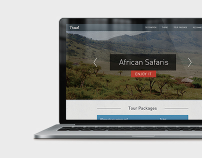 Amazing Travel Web Design