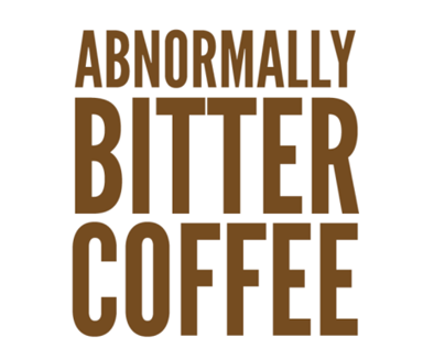 Abnormally Bitter Coffee