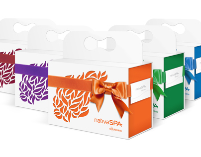 Nativa SPA gift boxes