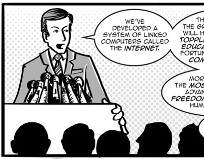 Comic: The internet was invented for...?