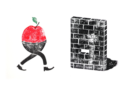 Running Fruits & Walls
