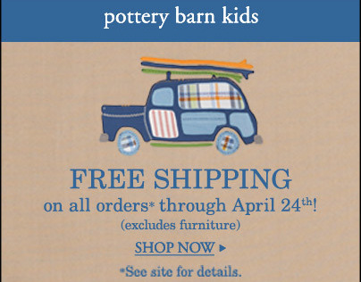 Pottery Barn Kids (Banner Ads)