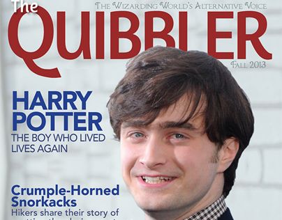 The Quibbler Magazine Cover