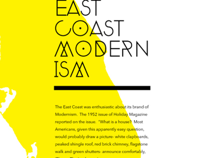 East Coast Modernism