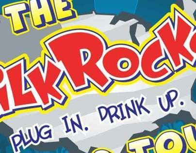 Evergreen Milk Rocks! Mailer