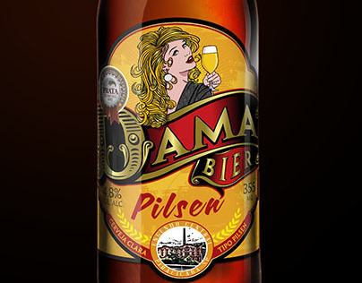 Dama Bier Pin Ups Series