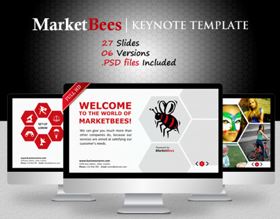 Marketbees Keynote Template