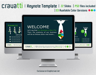 Cravatti Keynote Template