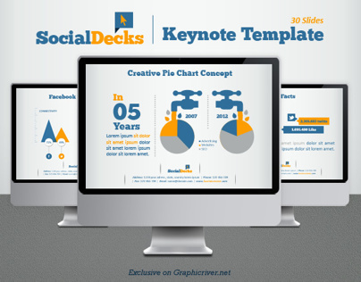 SocialDecks Keynote Template
