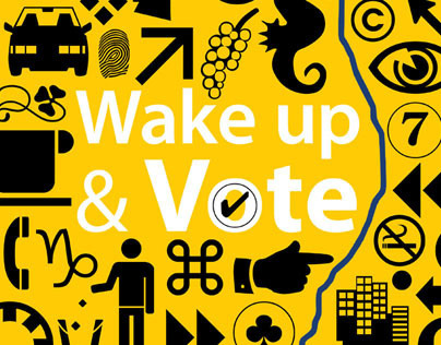 Wake Up & Vote (Election Campaign)