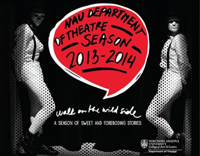 NAU Theatre Season Brochure 2013-14