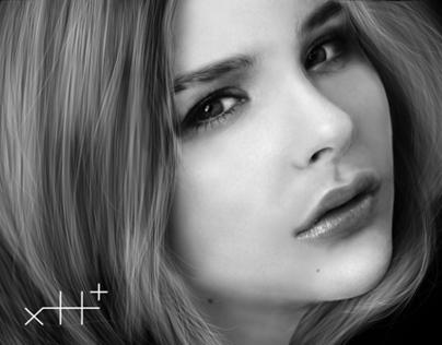 ♥ digital painting : Chloë-Grace-Moretz
