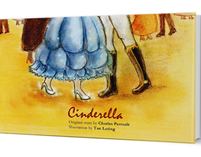 Book cover design - Cinderella