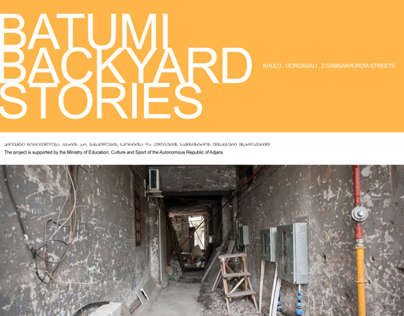 BATUMI BACKYARD STORIES