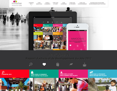 Re-design Immochan - Responsive/Flat design