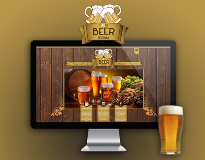 Italia Beer Festival || HTML Website