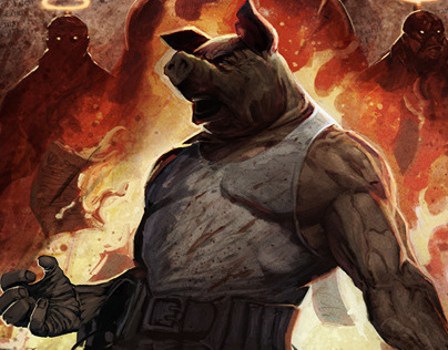 OINK: Heavens Butcher #2