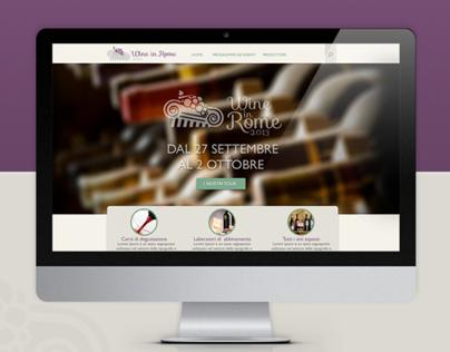 Wine in Rome -Logo & Website