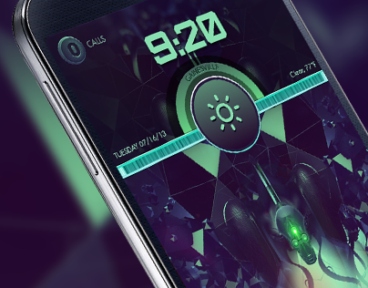 Brainiac Phone Theme