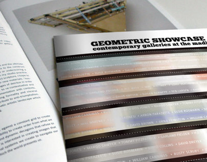 Exhibition Catalog Contemporary Geometric Showcase