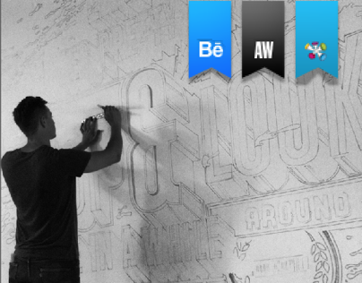 Type Mural + Video + Animation