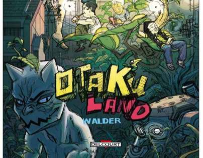 Otakuland - COmic book cover test
