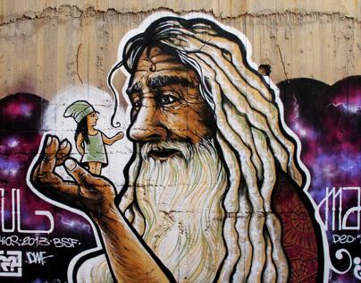 Beach Street Festival Graffiti - 2013