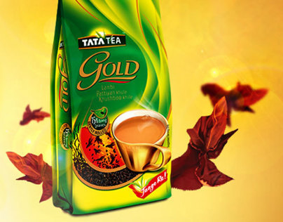 TATA Tea Gold microsite