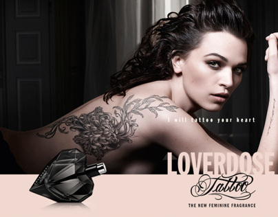 Site Promotionnel Loverdose Tattoo by Diesel