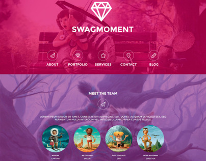 SwagMoment WordPress Theme