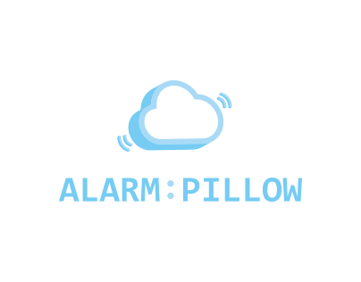 Alarm Pillow // Logo