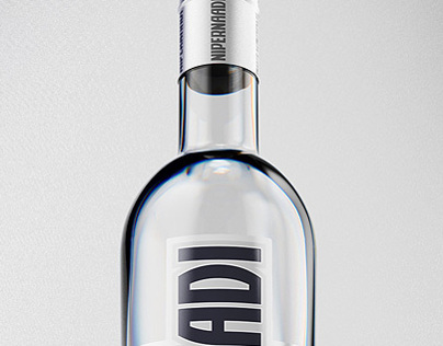 Nipernaadi Vodka Product Renders