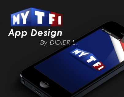MY TF1 | App Design