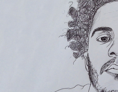 Black Pen Portraits