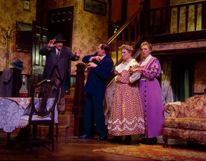 Scenic Design for Arsenic and Old Lace