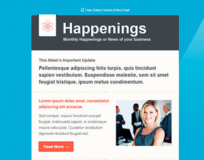 Precise Multipurpose E-newsletter Template