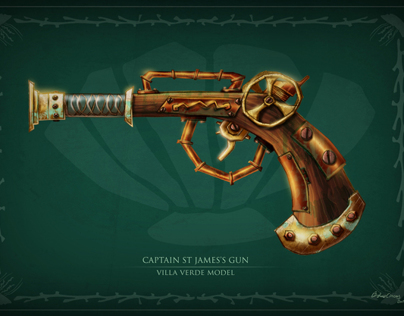 PIRATES/Steampunk guns