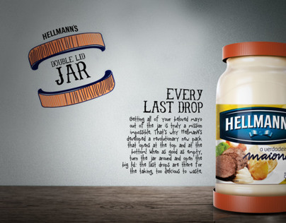 HELLMANN'S | DOUBLE LID JAR