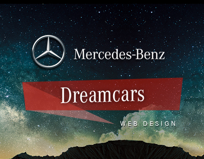 Mercedes Benz // Dreamcars Website